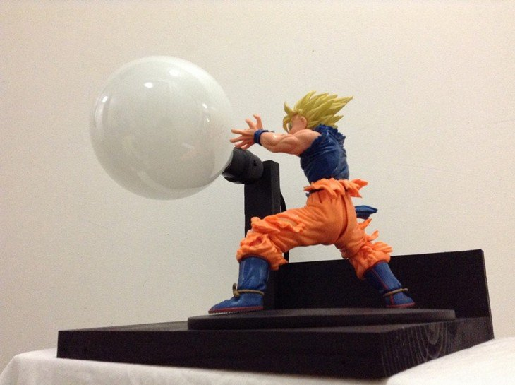 lámparas de Dragon ball