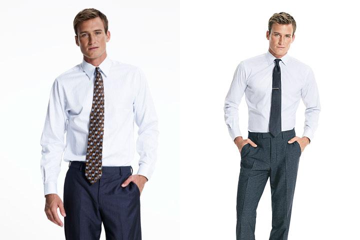 El largo correcto de una corbata