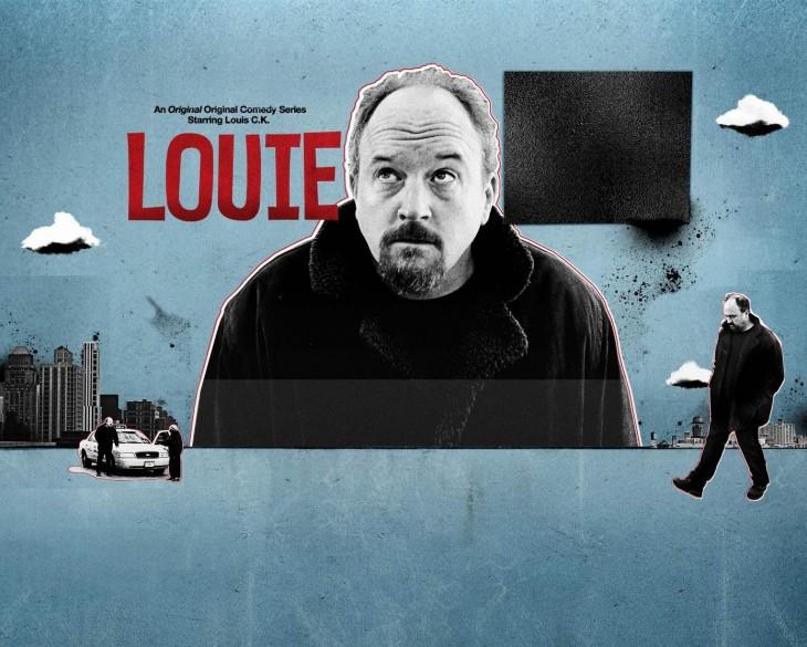 Cartel de la serie Louie