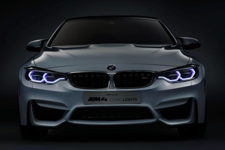 Luces láser del BMW
