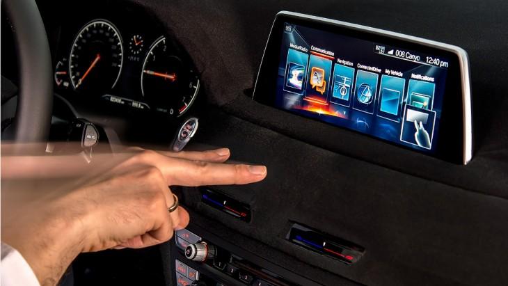 Control de BMW operado por movimiento