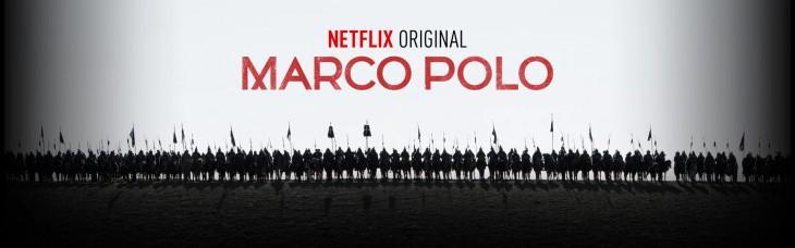 Cartel de la serie Marco Polo