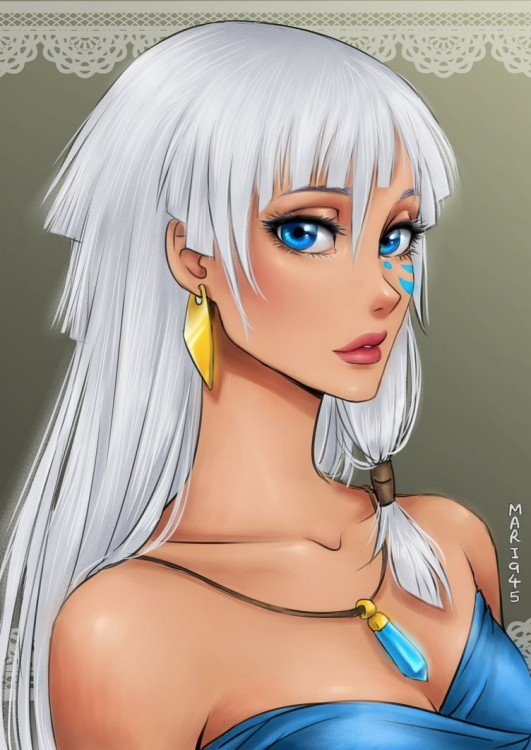 princesas disney anime, Kida