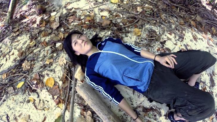 Reikko Hori sobrevive en isla desierta