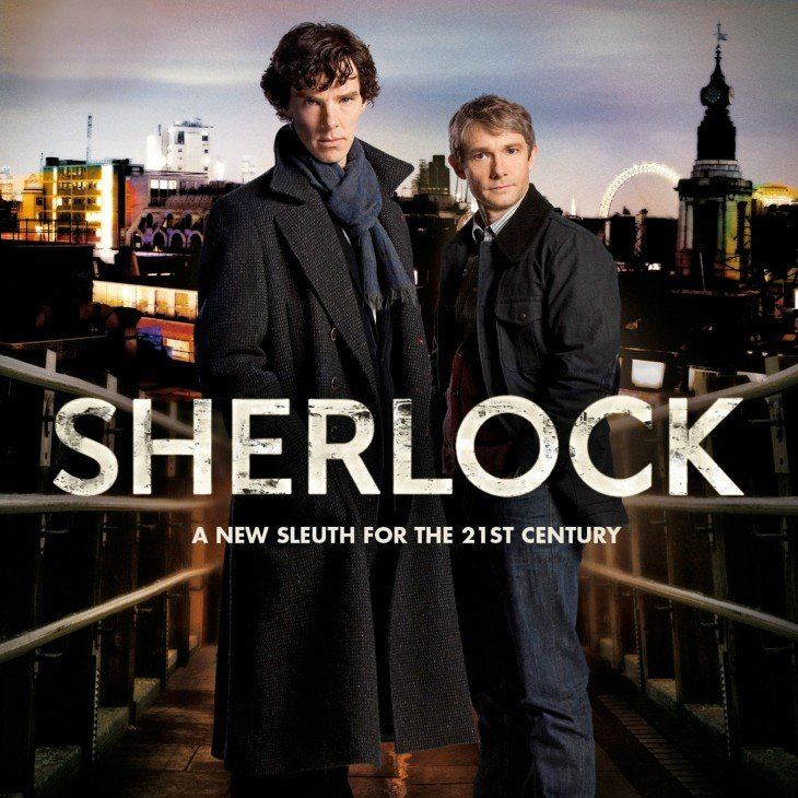 Cartel de la serie Sherlock