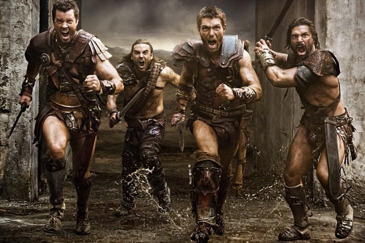 Escena de Spartacus