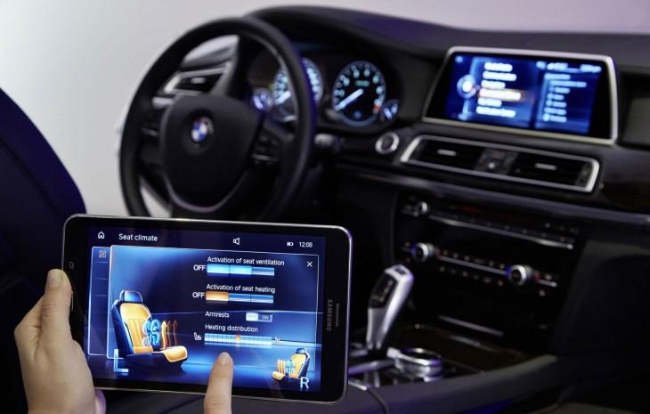 Tableta de comandos para BMW