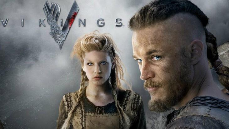 Cartel de la serie Vikingos