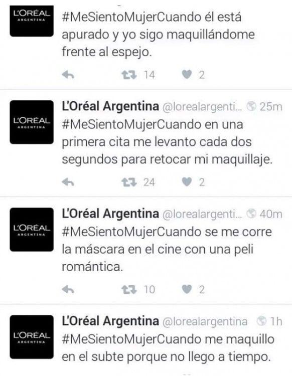 Epic Fail de 'Loreal Argentina' en el Día Internacional de la Mujer