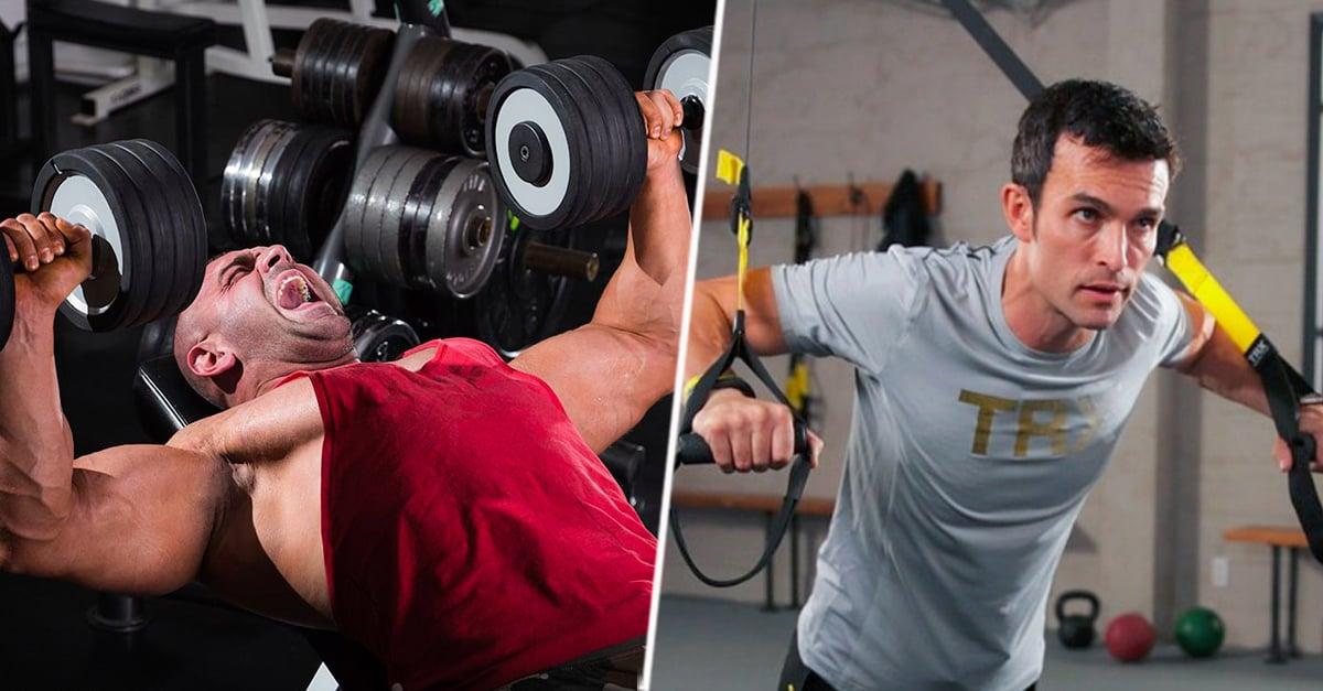 Entrena con estos 29 ejercicios para unos fuertes pectorales