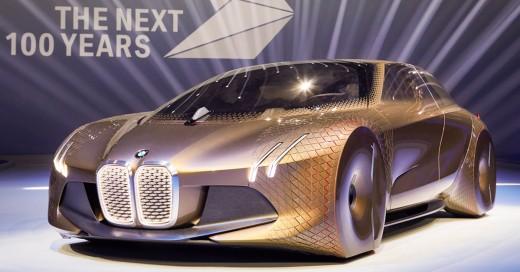 BMW cumple 100 años y lo celebra presentando el auto del futuro: ¡Vision Next 100!