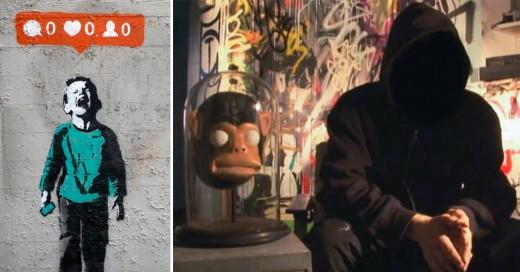 Científicos británicos aseguran haber descifrado la identidad de Banksy
