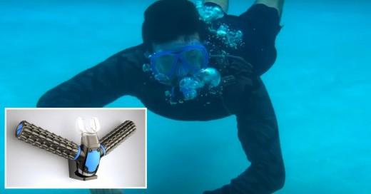 Dispositivo para respirar bajo el agua recauda 830,000 dólares, ¡Pero la ciencia no lo acepta!