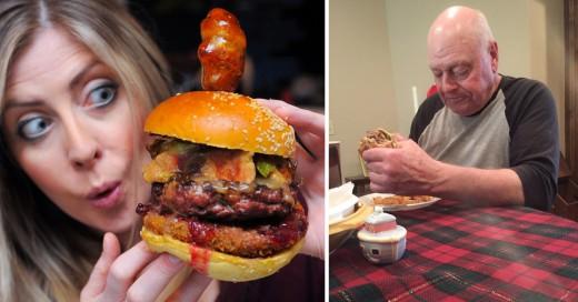 El abuelo que conmovió a Twitter preparará hamburguesas y ¡todos estamos invitados!