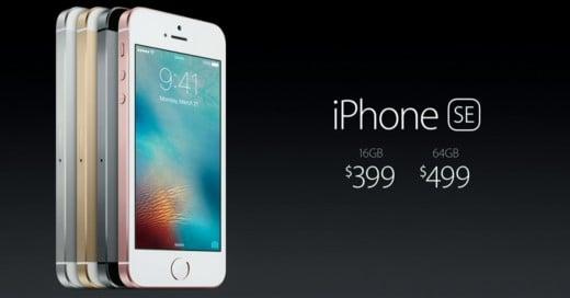 El nuevo iPhone SE, el Pequeño Gigante de Apple: ¡El tamaño del iPhone 5S con el desempeño de un 6S!