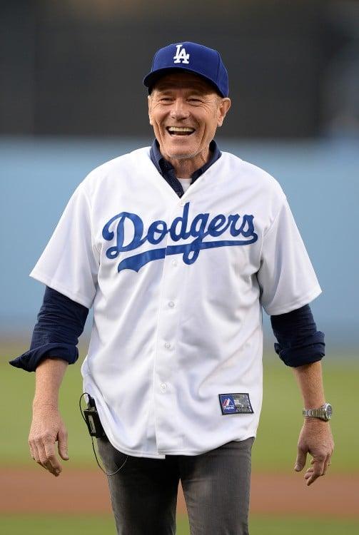 bryan cranston Dodgers