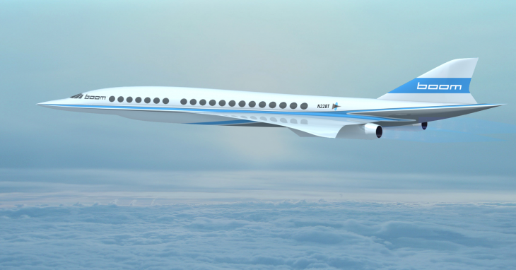Boom, nuevo avión supersónico