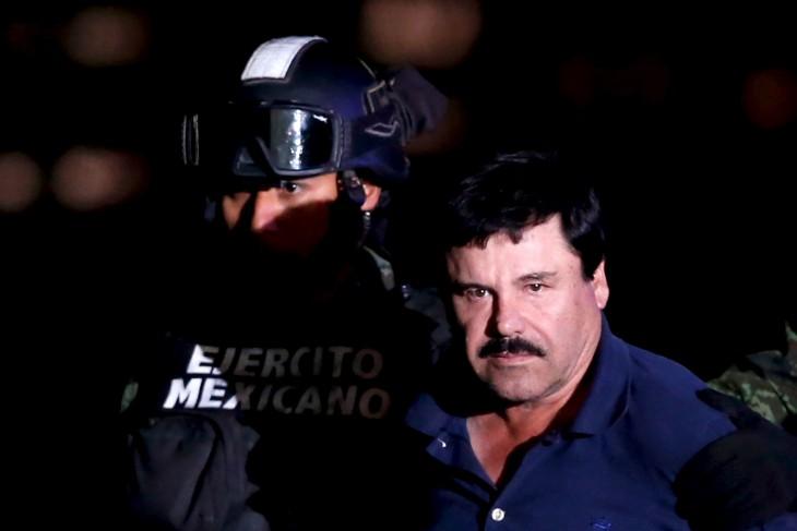 El Chapo Guzmán detenido por el Ejército Mexicano