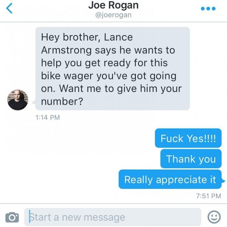 Mensaje para Dan Bilzerian en Twitter