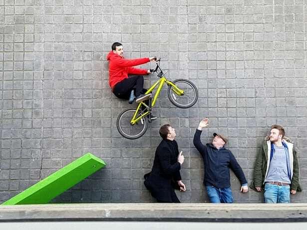 Dynamo, ilusionista, BMX