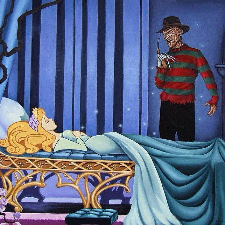 Villanos de terror en películas de Disney