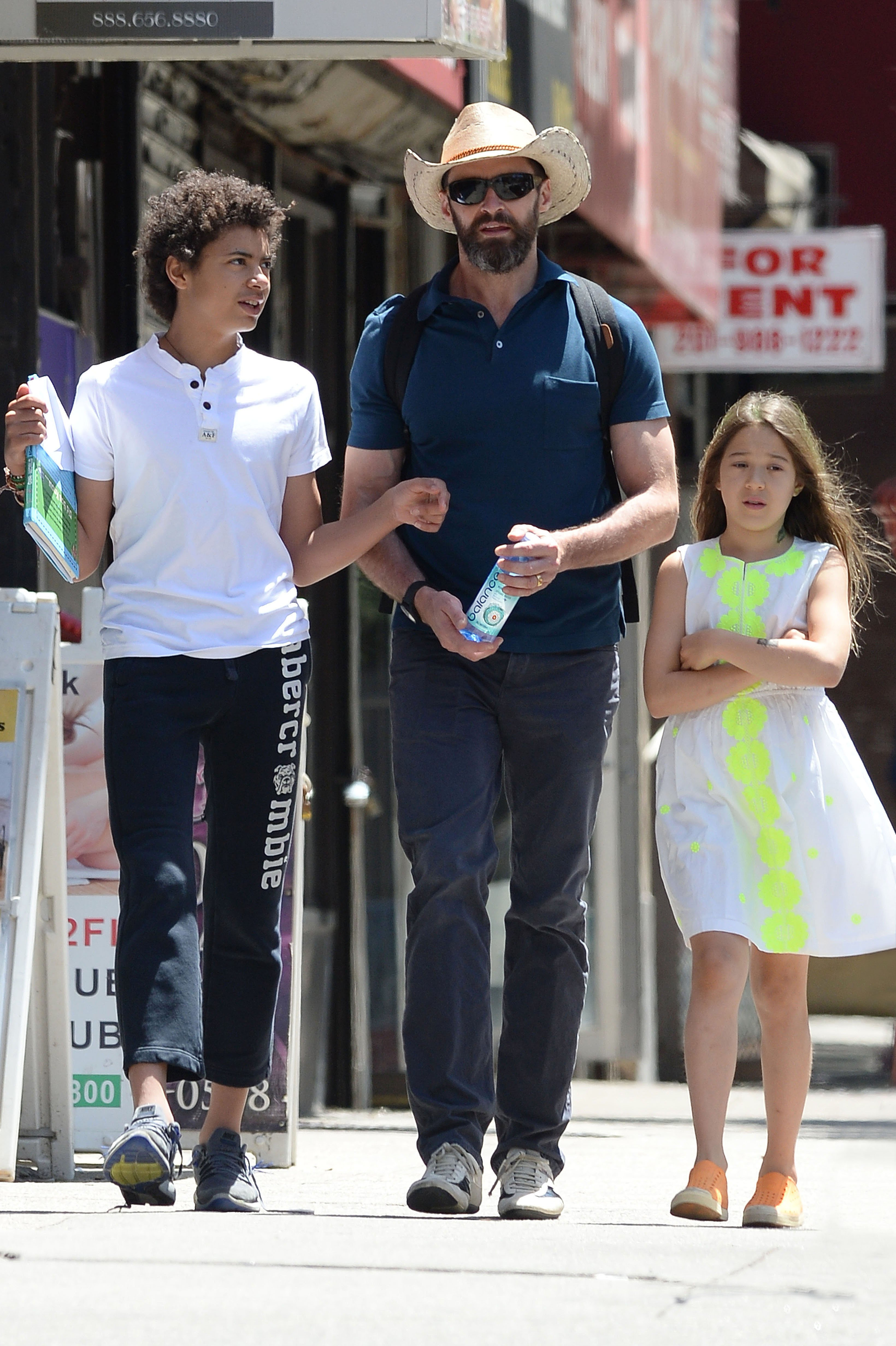 I Carry A Backpack Of Insecurities About My Kids Hugh Jackman Reveals His Fears In Life moreover Hugh Jackman Rescues His Two Children And Strangers From Dangerous Rip At Bondi Beach 34574429 in addition Hugh Jackman Family further Oscar Maximillian Jackman besides Hugh Jackman spends Father Day daughter Ava. on oscar jackman and ava
