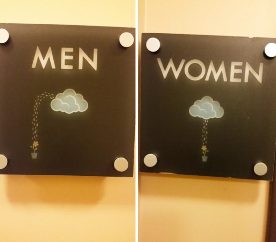 Diseno De Baños Alfa:Los 20 carteles de baño más graciosos y fuera de serie