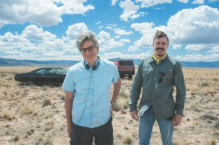 Vince Gilligan y Peter Gould