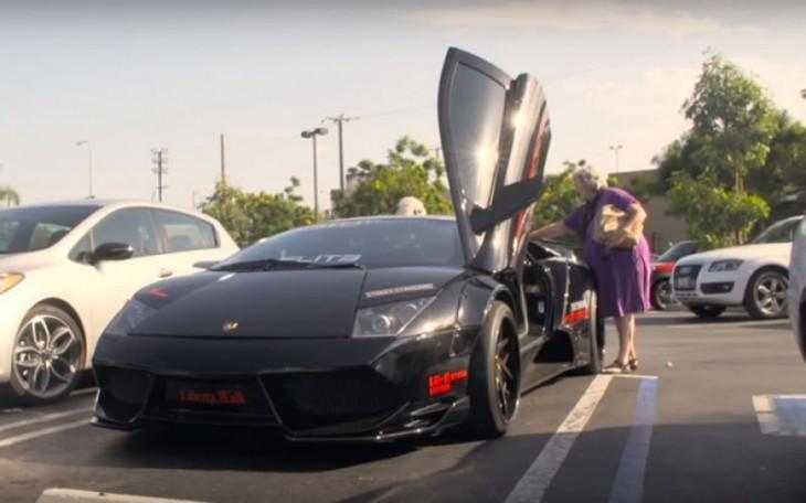 Lamborghini abuelas
