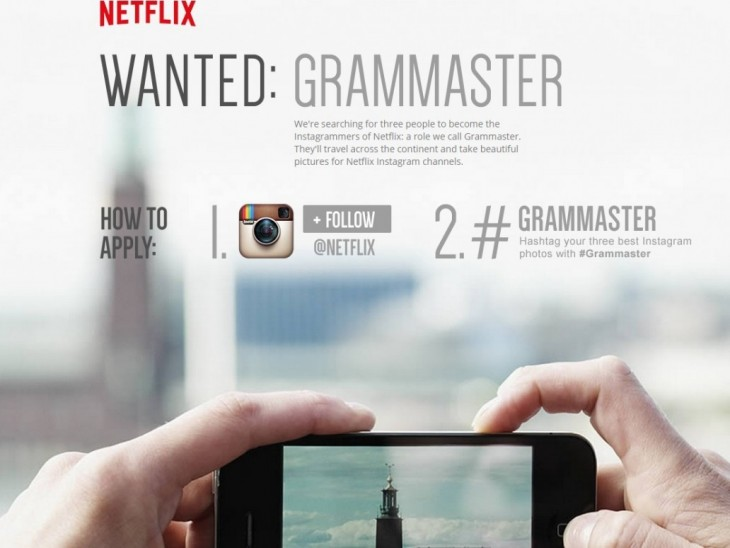 Convocatoria de Netflix