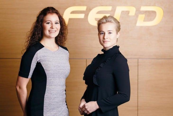 Las hermanas jóvenes más ricas del mundo