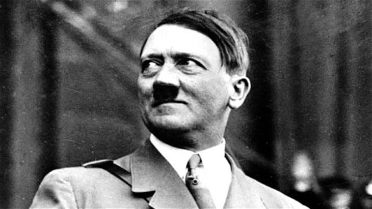 Adolf Hitler en blanco y negro