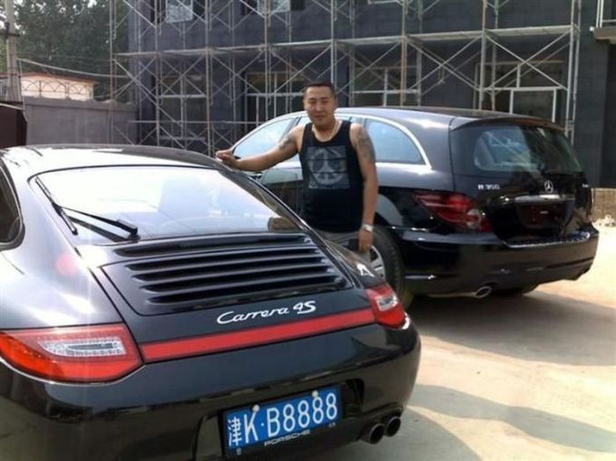 gángster chino