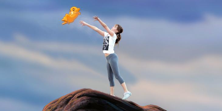 Jennifer Lawrence en Batalla de Photoshop