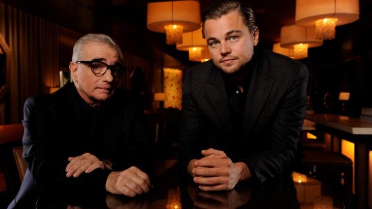 Leonardo y Martin Scorsese