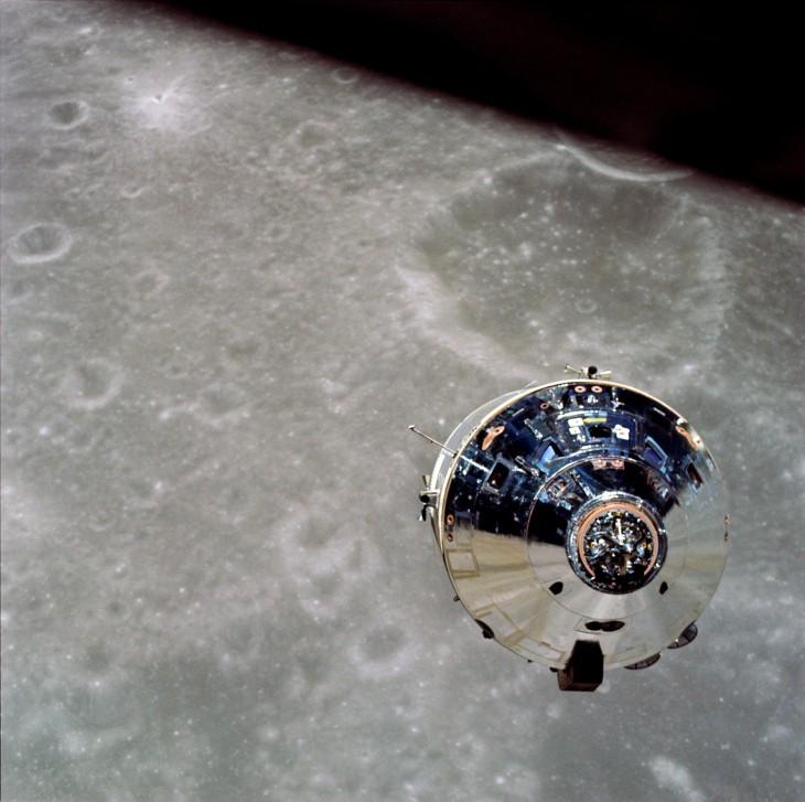 Módulo del Apolo 10 viaja a la Luna
