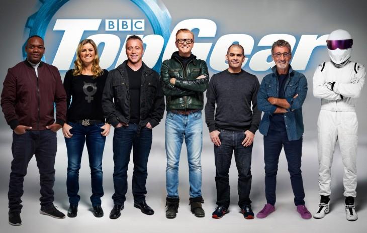 La nueva alineación de Top Gear