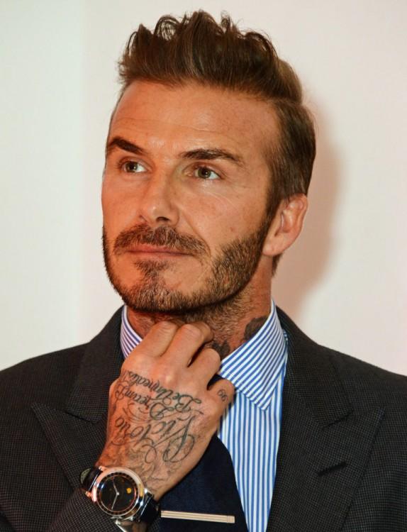 David Beckham usa un reloj de 250 mil dólares