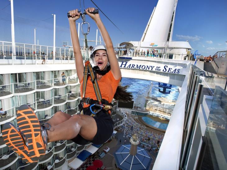 Harmony of the Seas, el crucero más grande del mundo