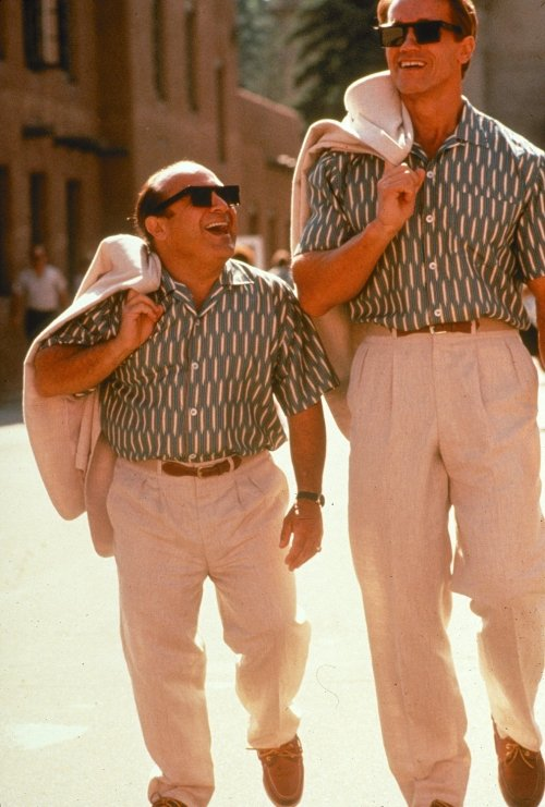 Escena de la película Twins