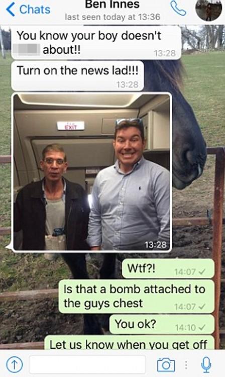 Conversación por WatsApp