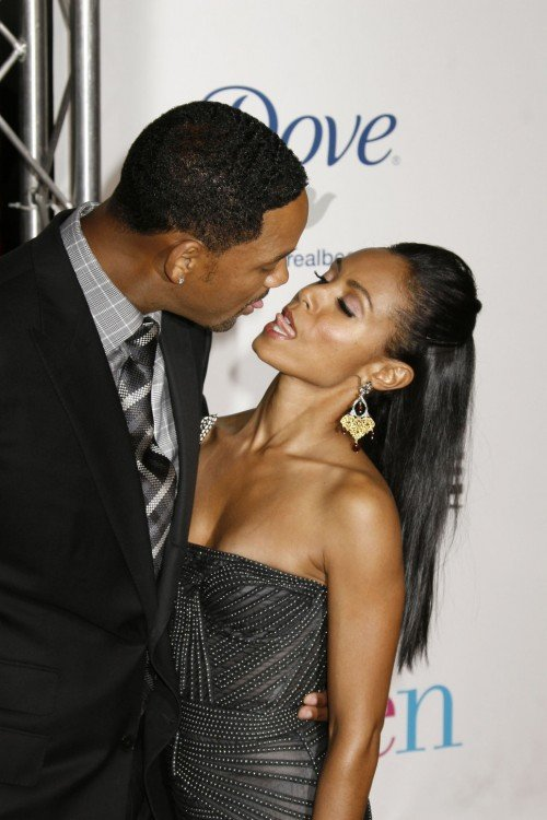Will Smith con su esposa Jada
