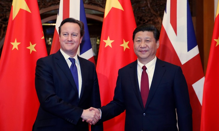 Xi Jinping David Cameron