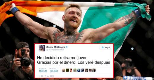 ¿Conor McGregor se retira? ¡Lo expulsan de UFC 200 y no peleará contra Nate Díaz!