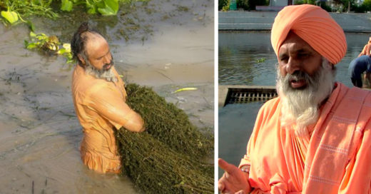Conoce a Sant Balbir, el hombre que limpió un río entero con sus manos