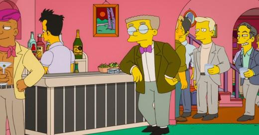Es oficial: Smithers finalmente sale del clóset en el nuevo episodio de 'Los Simpson'