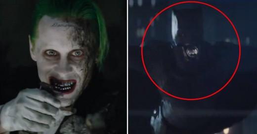 """El nuevo tráiler de """"Suicide Squad"""" es una locura ¡Y finalmente presenta a Batman!"""