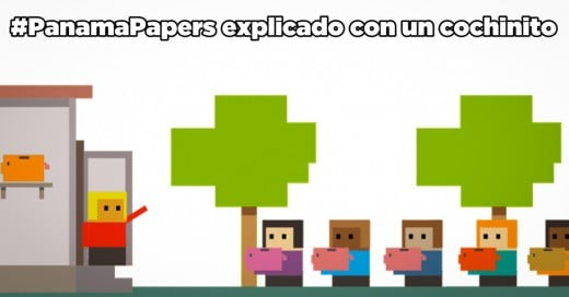 #PanamaPapers explicado con una alcancía de cochinito ¡Para que los niños lo entiendan!