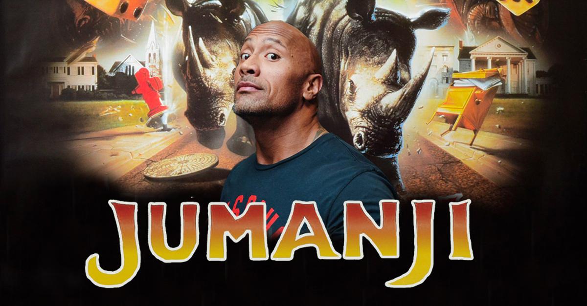 La roca ser el protagonista del nuevo remake de jumanji for La roca film