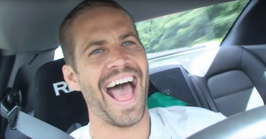 Publican Video inédito de Paul Walker conduciendo un Superdeportivo a alta velocidad